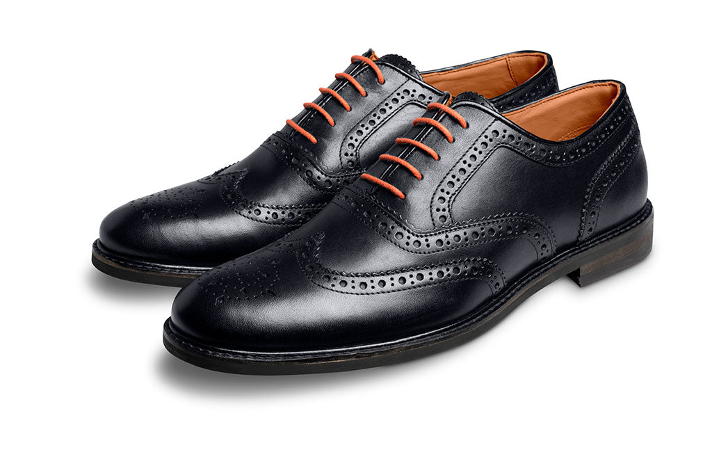 ORANGE SHOE LACE-LACES | LANX Proper Men's Shoes