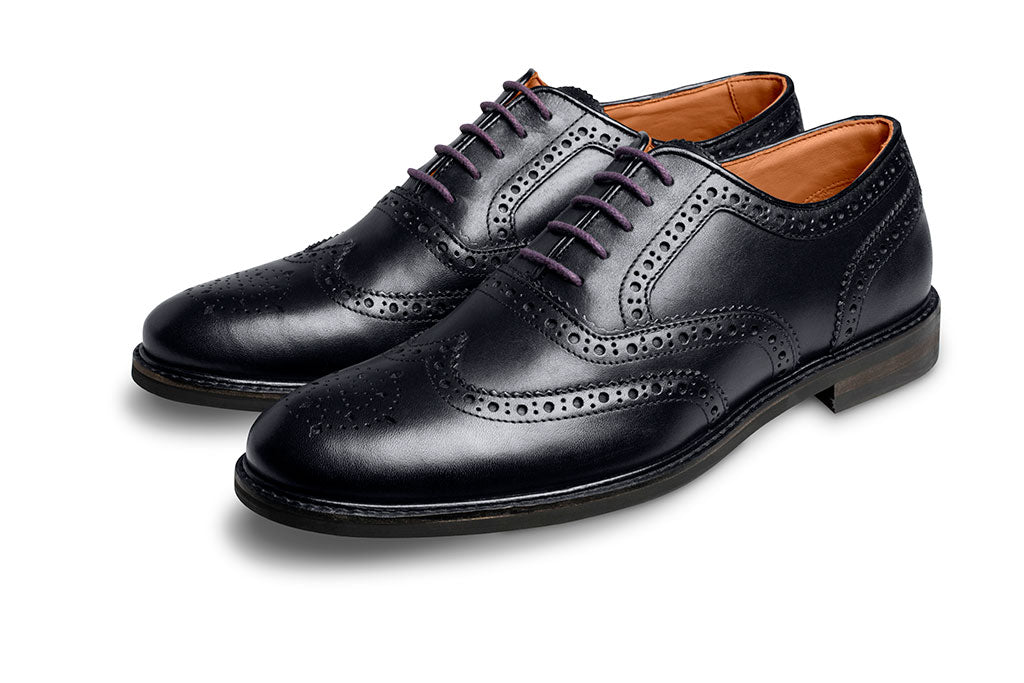 PURPLE SHOE LACE-LACES | LANX Proper Men's Shoes