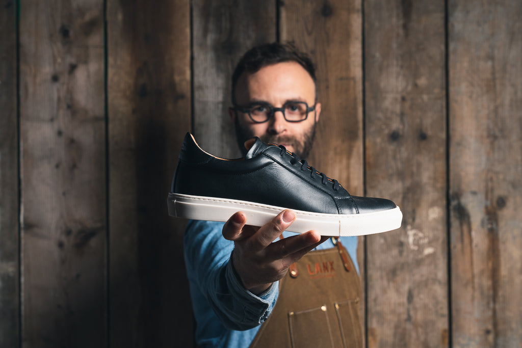NESS / BLACK-Womens Sneakers | LANX Proper Men's Shoes