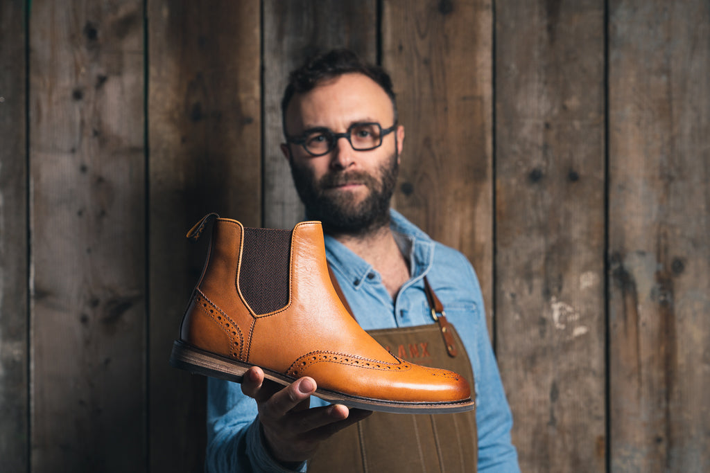 MITTON // TAN-MEN'S SHOE | LANX Proper Men's Shoes