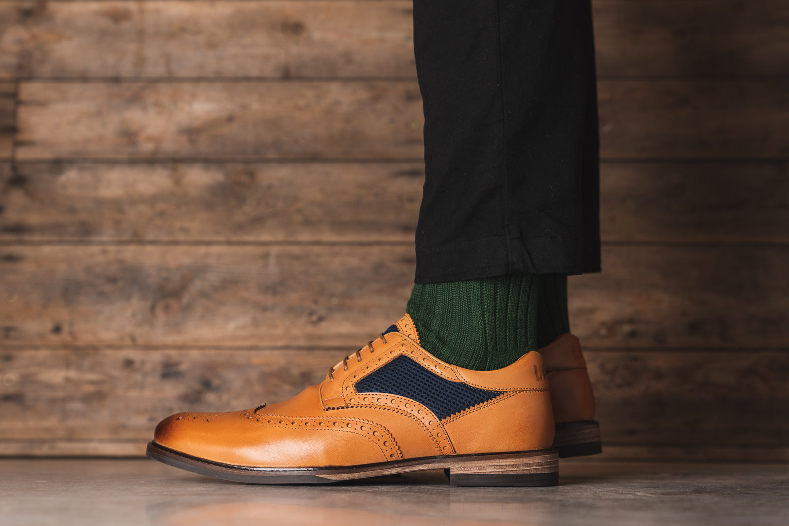 MEDLEY // TAN-MEN'S SHOE | LANX Proper Men's Shoes