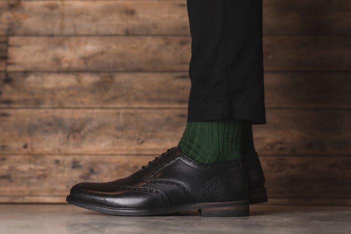 SHIREBURN // BLACK-MEN'S SHOE | LANX Proper Men's Shoes