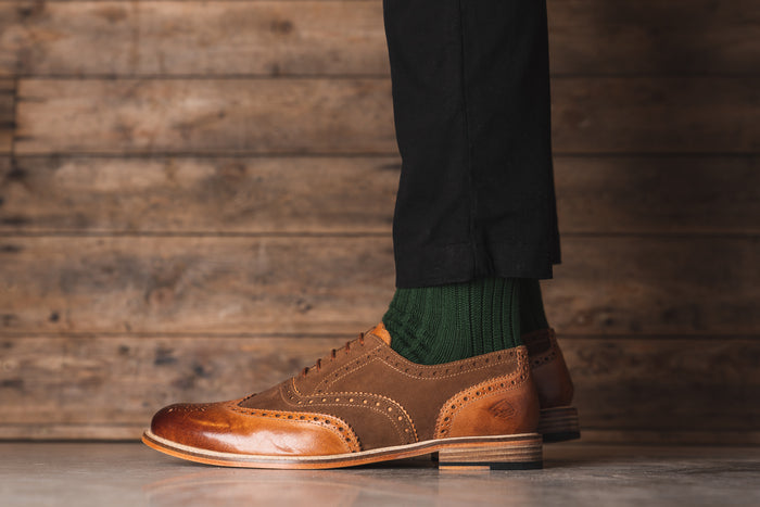 ANSBRO // TAN-MEN'S SHOE | LANX Proper Men's Shoes