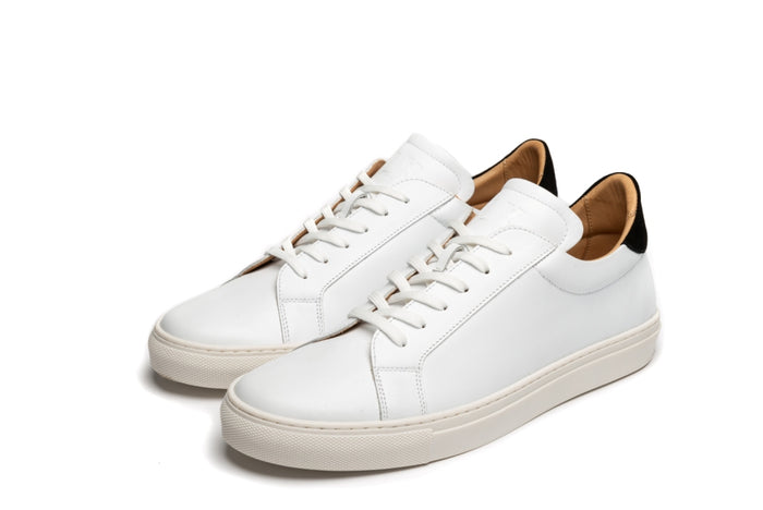 JACKSON // WHITE-MEN'S SHOE | LANX Proper Men's Shoes