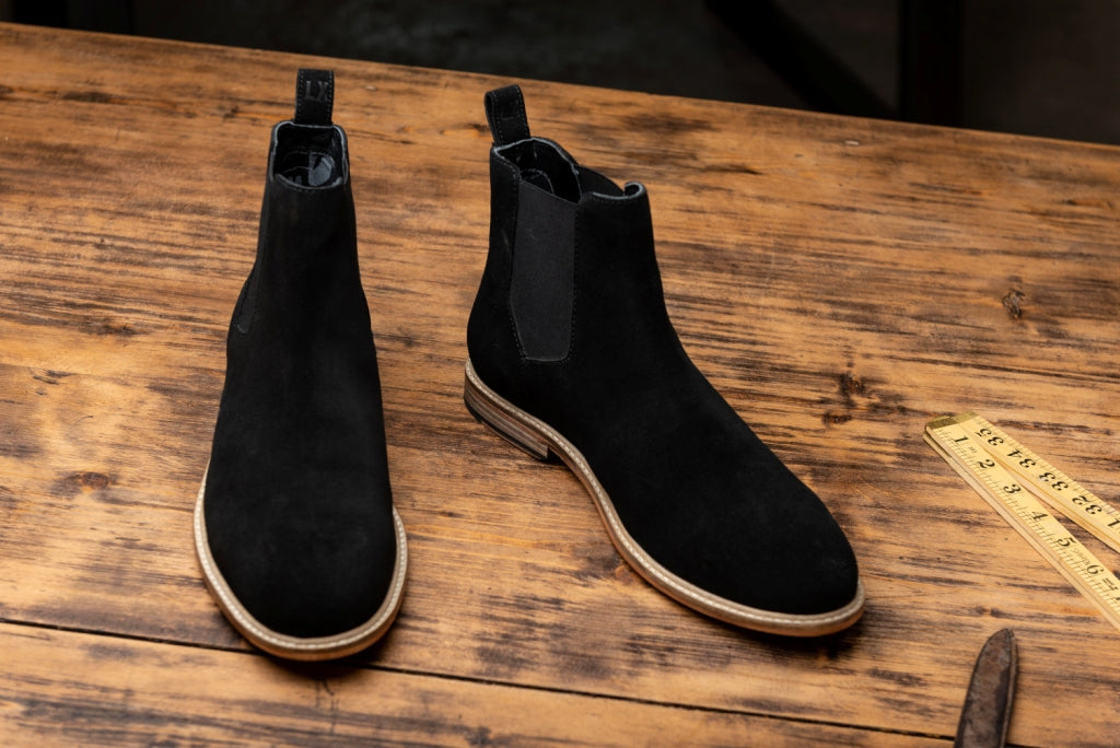 NEARY // BLACK-MEN'S SHOE | LANX Proper Men's Shoes