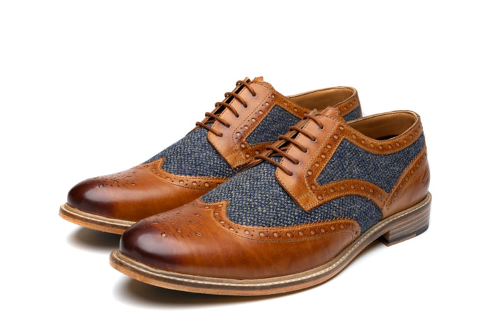 RUMBOLD // TAN (MEN'S)-MEN'S SHOE | LANX Proper Men's Shoes