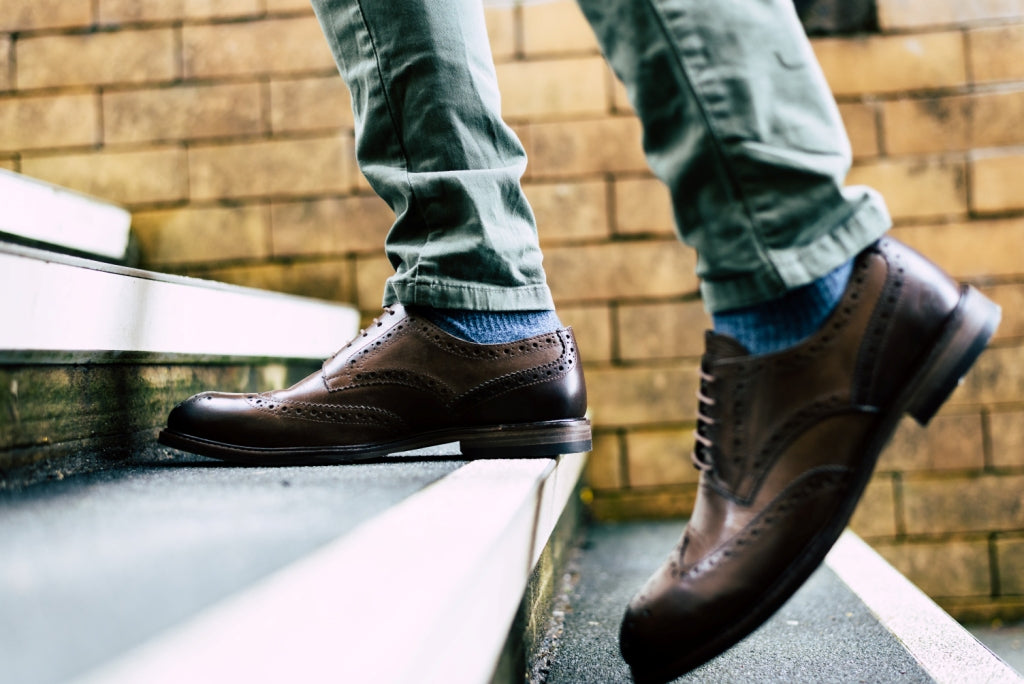 COPPING // BROWN-MEN'S SHOE | LANX Proper Men's Shoes