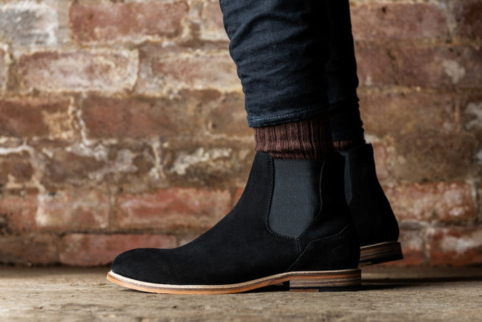 *NEARY // BLACK-MEN'S SHOE | LANX Proper Men's Shoes