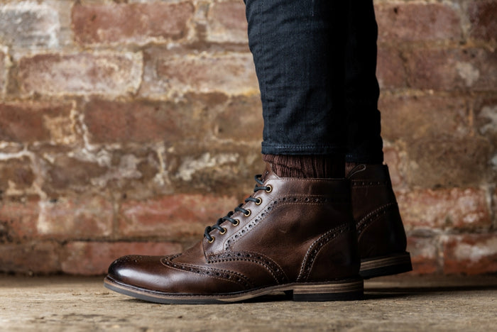 *REILLY // BROWN-MEN'S SHOE | LANX Proper Men's Shoes