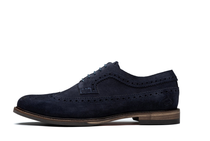 RUSSELL // NAVY (MEN'S)-MEN'S SHOE | LANX Proper Men's Shoes