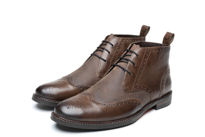 EMERY / BROWN-Womens Footwear | LANX Proper Men's Shoes
