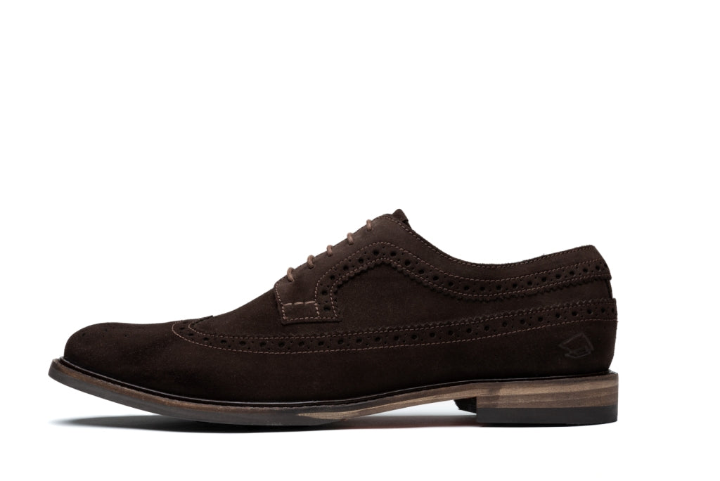 RUSSELL // BROWN (MEN'S)-MEN'S SHOE | LANX Proper Men's Shoes