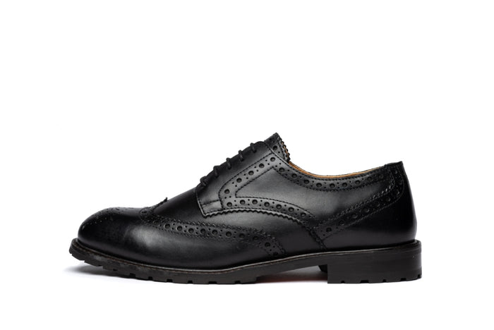 *WHITEWELL // BLACK-Womens Footwear | LANX Proper Men's Shoes