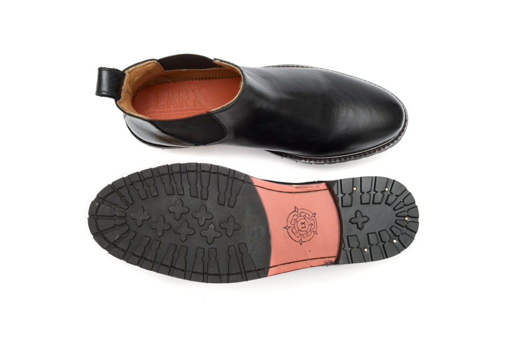 *BOWLAND // BLACK-Womens Footwear | LANX Proper Men's Shoes