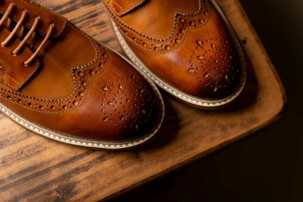 GREENWOOD / TAN-Womens Footwear | LANX Proper Men's Shoes