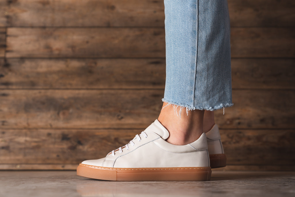 ANCOATS / OFF WHITE-Womens Sneakers | LANX Proper Men's Shoes