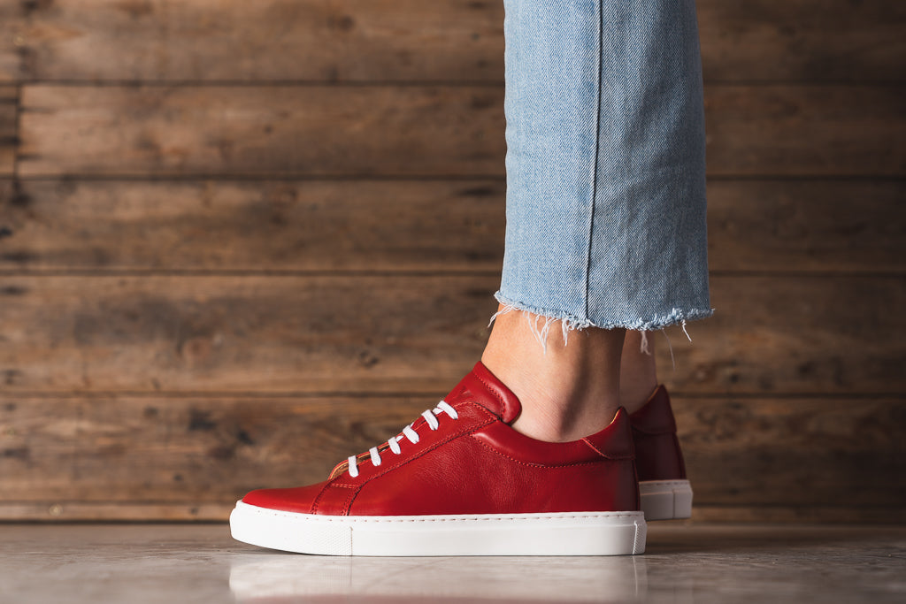 NESS / SCARLET-Womens Sneakers | LANX Proper Men's Shoes