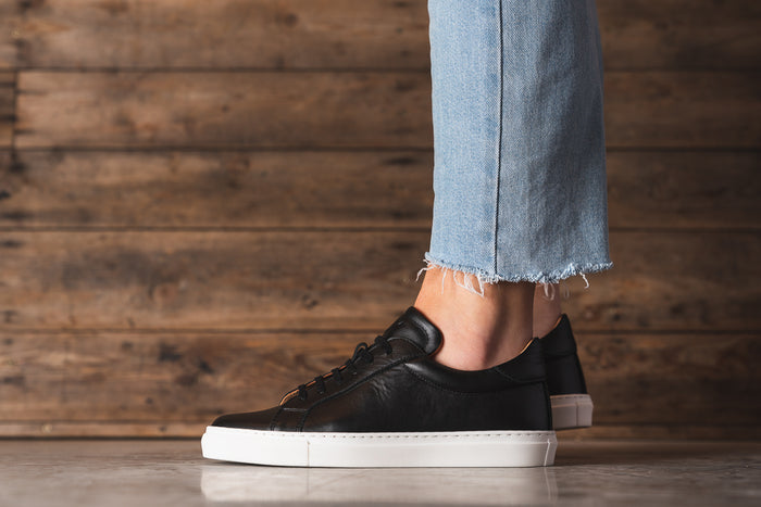 ANCOATS / BLACK-Womens Sneakers | LANX Proper Men's Shoes