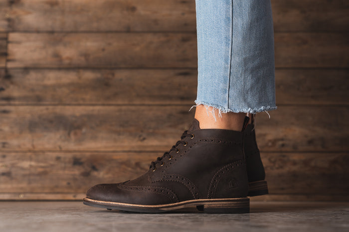 PARK / DISTRESSED BROWN-Womens Footwear | LANX Proper Men's Shoes