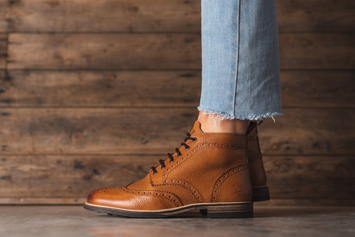 PARK // PEBBLED TAN-Womens Footwear | LANX Proper Men's Shoes