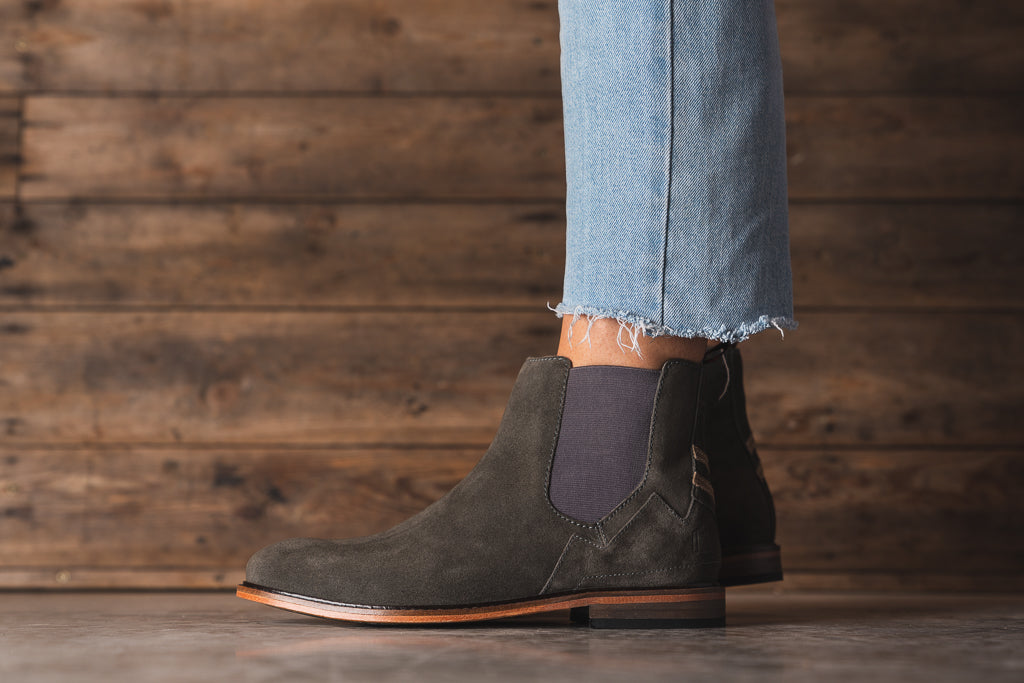 SLINGER / GREY-Womens Footwear | LANX Proper Men's Shoes