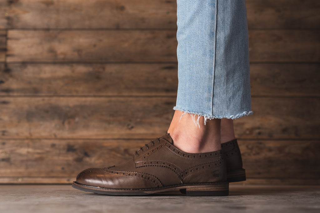 COPPING / BROWN-Womens Footwear | LANX Proper Men's Shoes