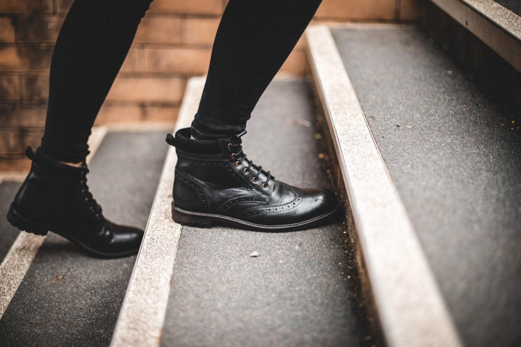 WADDINGTON / BLACK-Womens Footwear | LANX Proper Men's Shoes