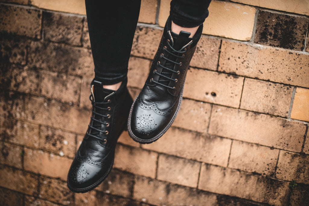 WADDINGTON // BLACK-Womens Footwear | LANX Proper Men's Shoes