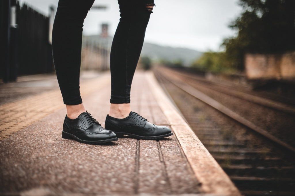 WHITEWELL // BLACK-Womens Footwear | LANX Proper Men's Shoes
