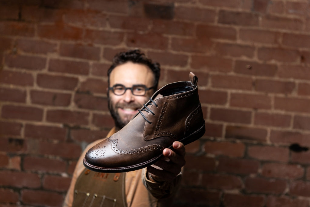 EMERY // BROWN-MEN'S SHOE | LANX Proper Men's Shoes