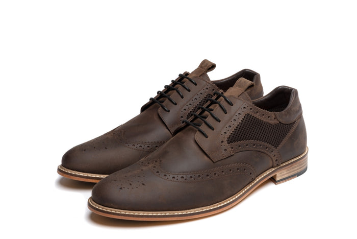 BIBBY // BROWN (MEN'S)-MEN'S SHOE | LANX Proper Men's Shoes