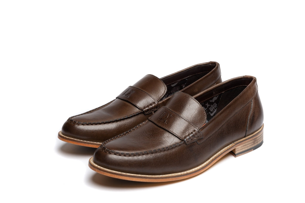 MILLER // BROWN (MEN'S)-MEN'S SHOE | LANX Proper Men's Shoes