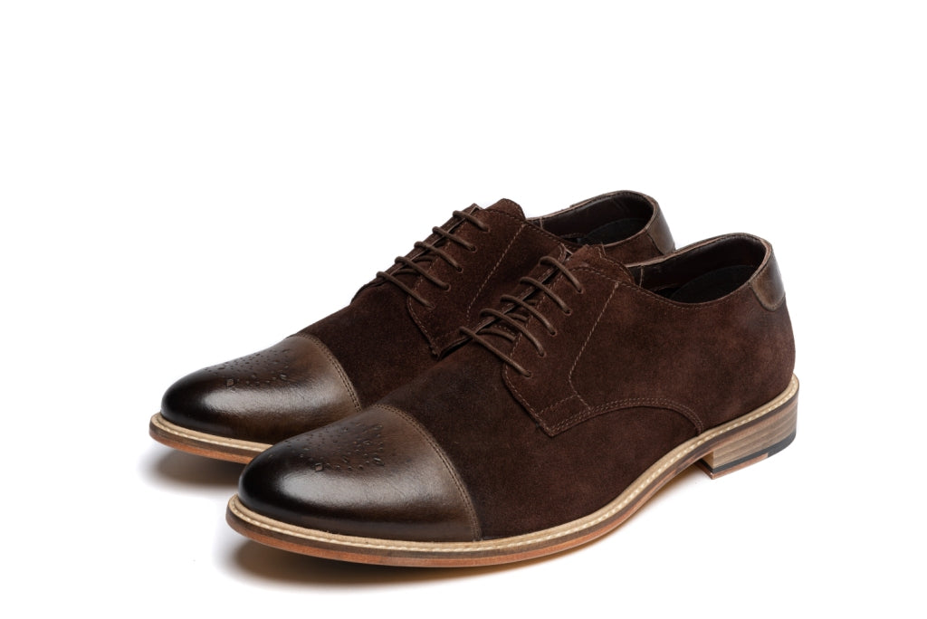 BARON // BROWN (MEN'S)-MEN'S SHOE | LANX Proper Men's Shoes