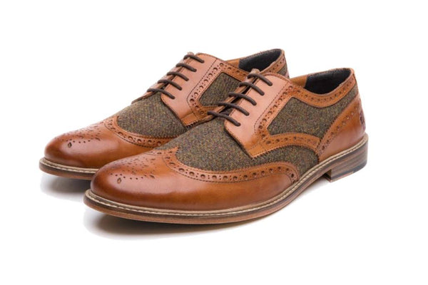WHITTLE // TAN-MEN'S SHOE | LANX Proper Men's Shoes