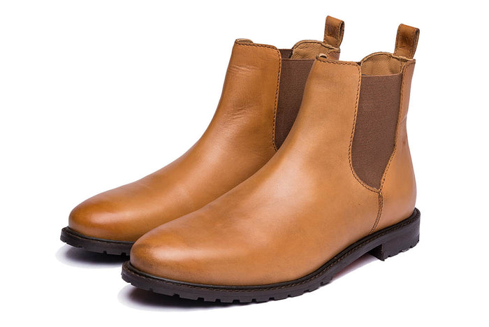 BOWLAND // TAN (PRE-ORDER)-Womens Footwear | LANX Proper Men's Shoes