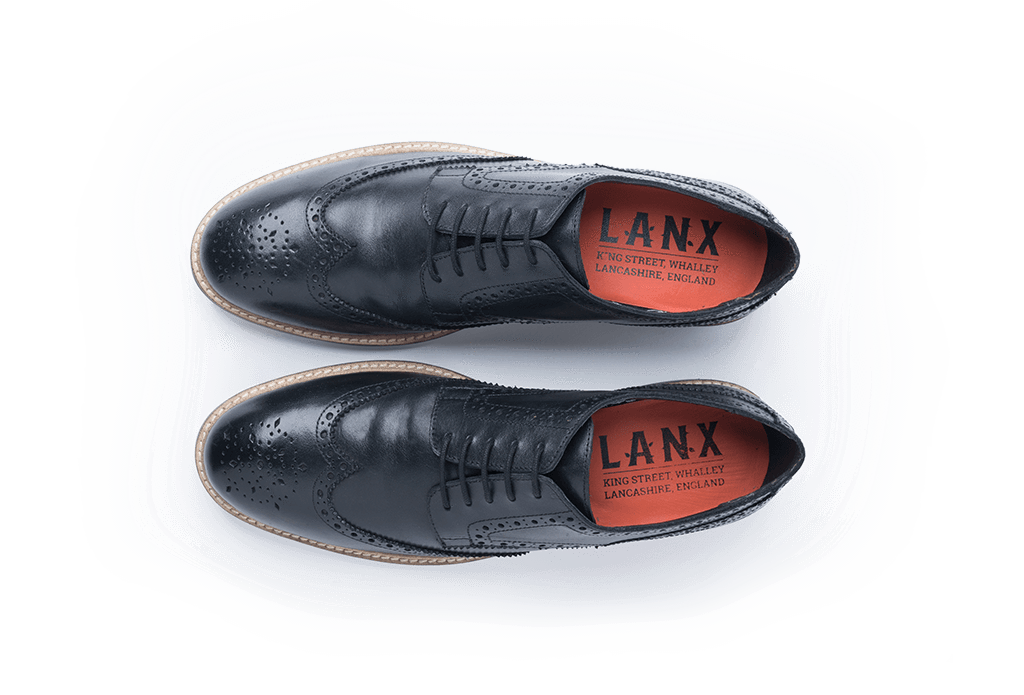 BEAUMONT // BLACK-MEN'S SHOE | LANX Proper Men's Shoes