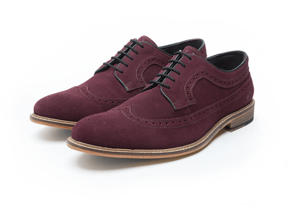 DUCKWORTH // BURGUNDY-MEN'S SHOE | LANX Proper Men's Shoes