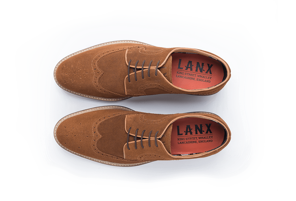 DUCKWORTH // MID BROWN-MEN'S SHOE | LANX Proper Men's Shoes