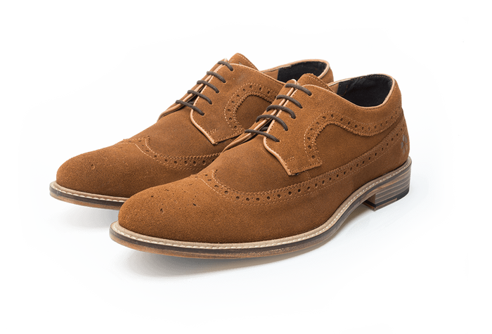 DUCKWORTH // MID BROWN (MEN'S)-MEN'S SHOE | LANX Proper Men's Shoes