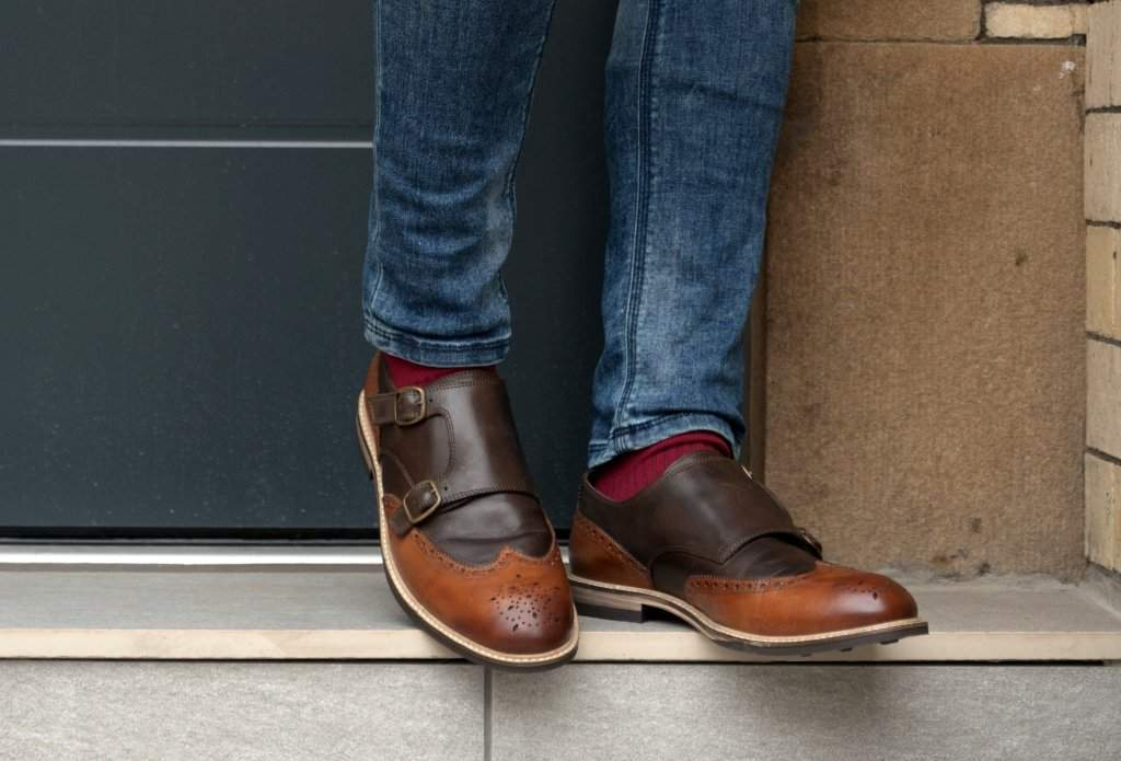 FINNEY // TAN + BROWN (MEN'S)-MEN'S SHOE | LANX Proper Men's Shoes