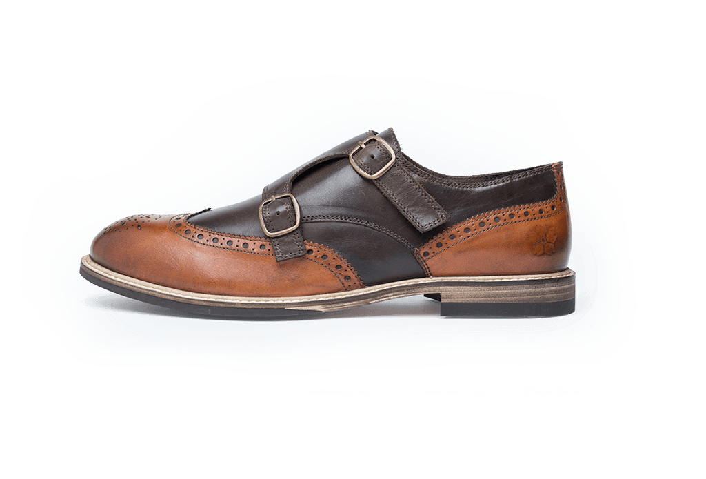 FINNEY // TAN + BROWN-MEN'S SHOE | LANX Proper Men's Shoes