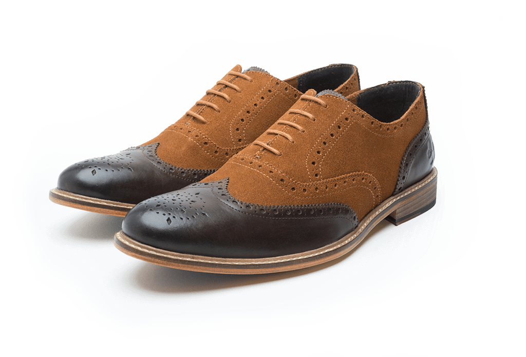 KENYON // BROWN + TAN-MEN'S SHOE | LANX Proper Men's Shoes