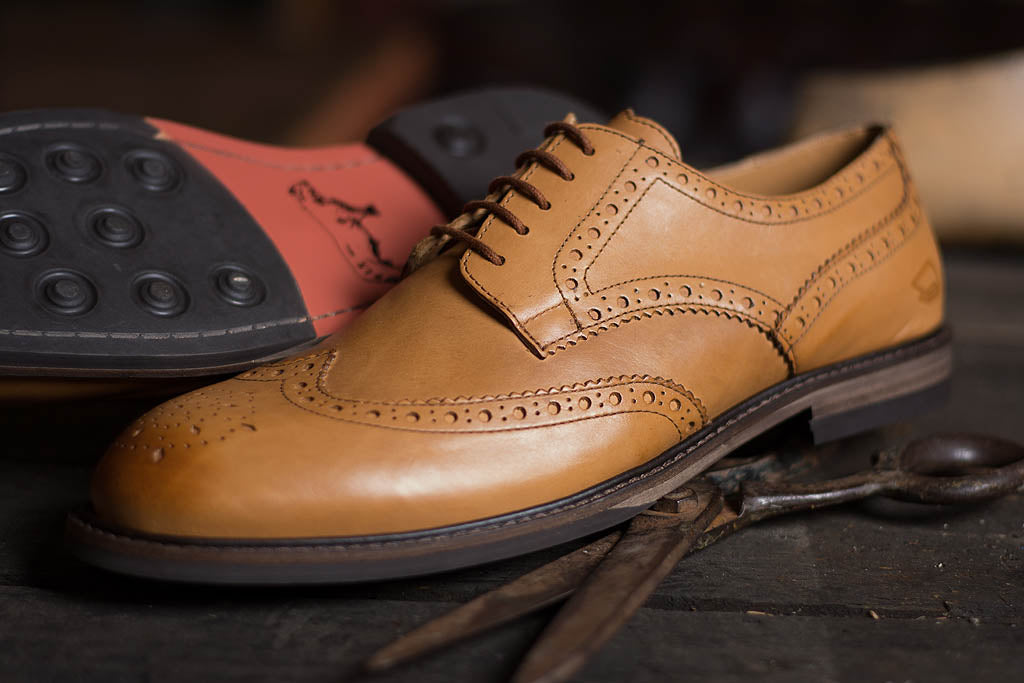 COPPING // TAN-MEN'S SHOE | LANX Proper Men's Shoes