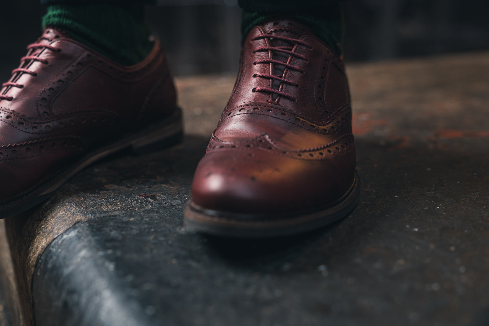 SHIREBURN // OXBLOOD-MEN'S SHOE | LANX Proper Men's Shoes