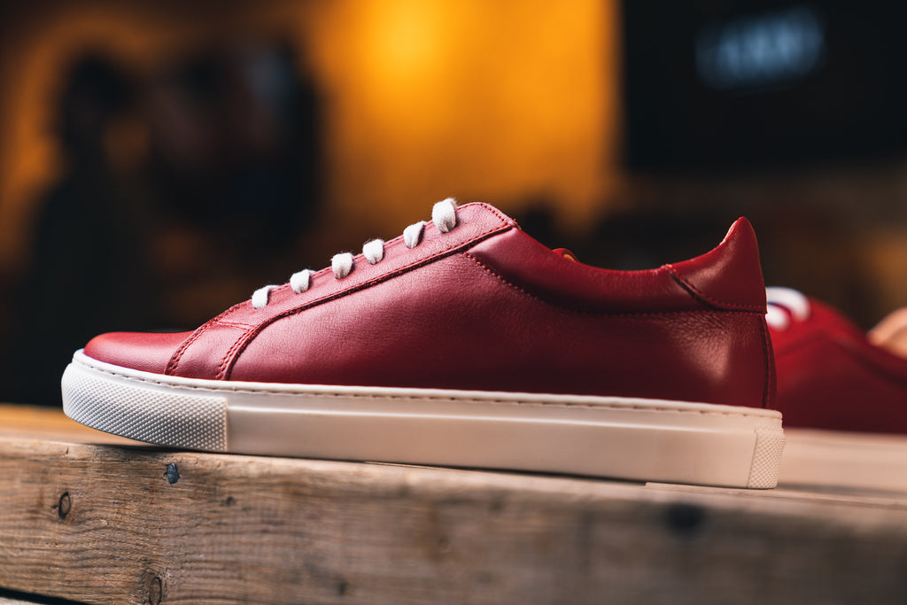 ANCOATS / SCARLET-Womens Sneakers | LANX Proper Men's Shoes