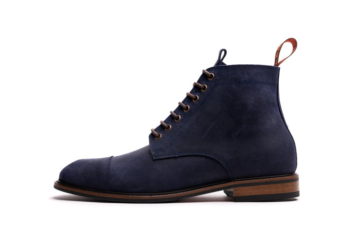 TASKER // COSMIC BLUE-MEN'S SHOE | LANX Proper Men's Shoes