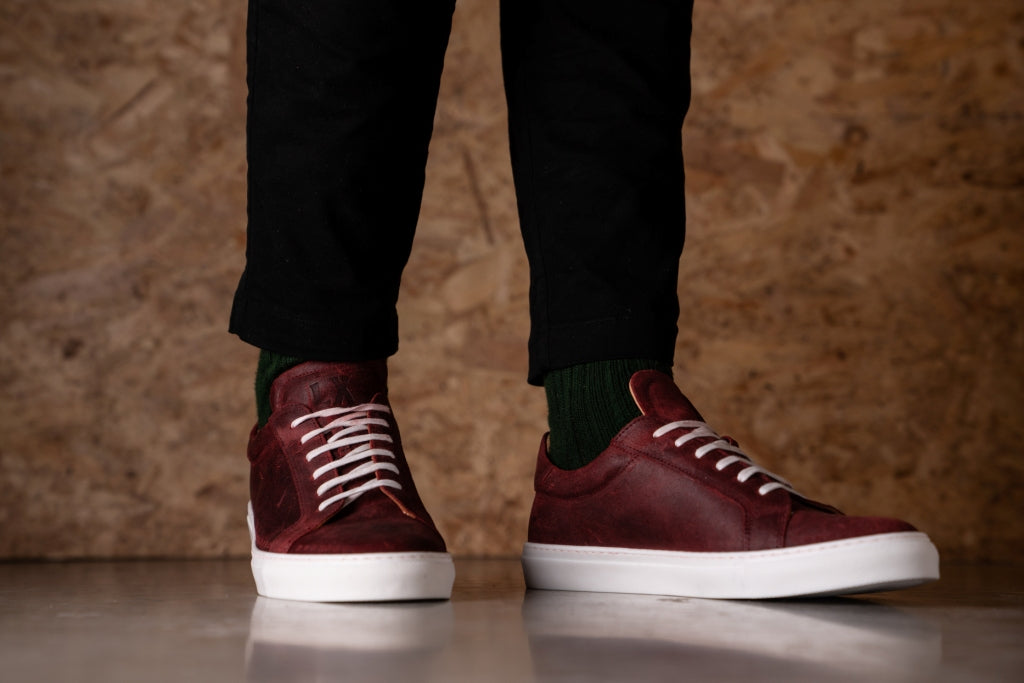 CHARLIE // RED OXIDE-MEN'S SNEAKER | LANX Proper Men's Shoes