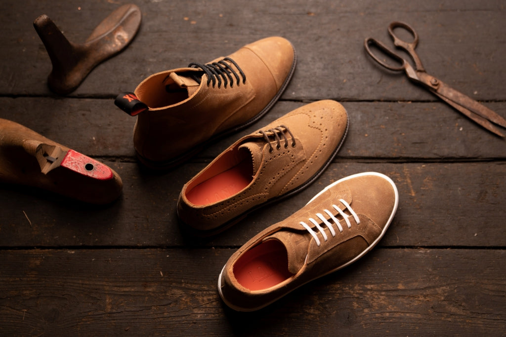 CHARLIE // NATURAL-MEN'S SNEAKER | LANX Proper Men's Shoes