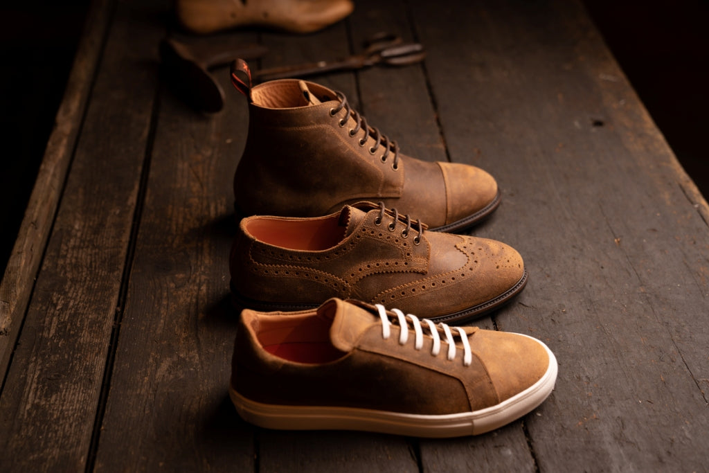 TASKER // CHAMOIS-MEN'S SHOE | LANX Proper Men's Shoes