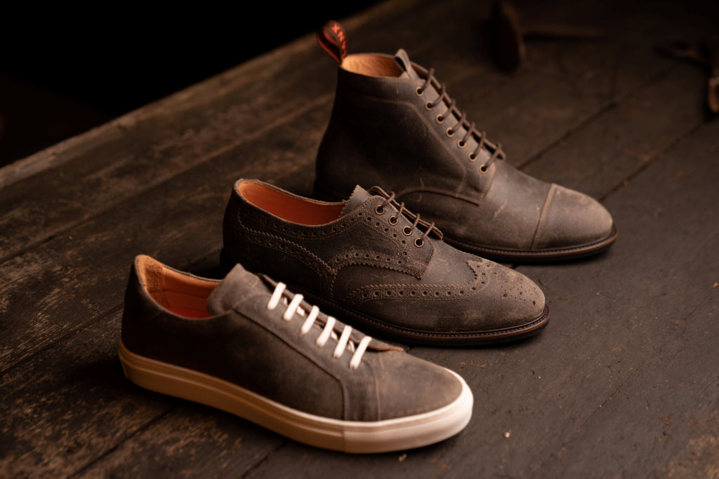 TASKER // STONE-MEN'S SHOE | LANX Proper Men's Shoes
